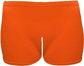 Janisramone Girls Kids New Plain Microfiber Hot Pants Stretchy School Gymnastics Dance Gym Shorts 3-13 Years