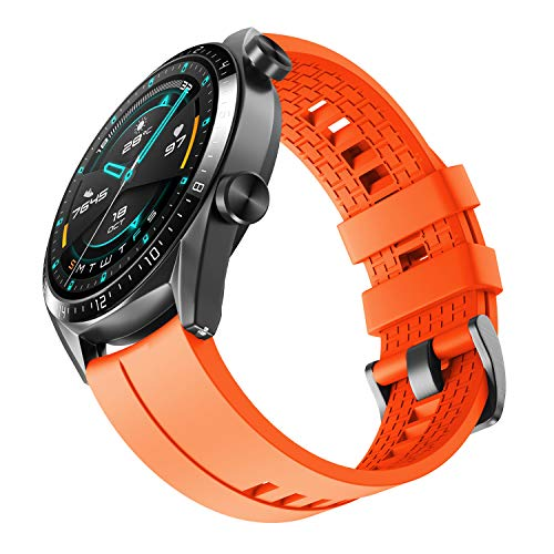 NotoCity Cinturino Compatibile con NotoCity Cinturino Compatibile con Huawei Watch GT 2/Huawei Watch GT Fashion/Sport/Active/Elegant/Classic, 22mm Easy-Fit Braccialetto di Ricambio