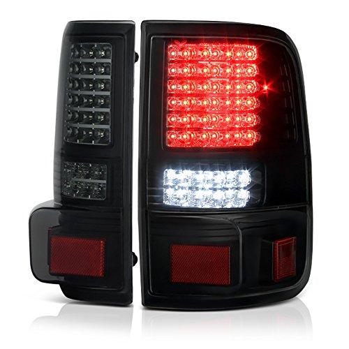 VIPMOTOZ Black Smoke Full-LED Tail Brake Light Housing Lamp Assembly For...