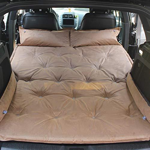 K-ONE Auto Auto aufgeblasene Matratze SUV Spezialfahrzeug Mittelbett Kofferraum Reisebett Luftkissenbett Selbstfahrende Reisematratze, Beige