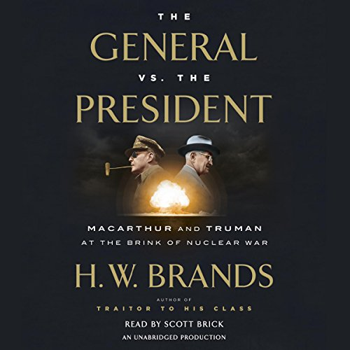 The General vs. the President audiobook cover art