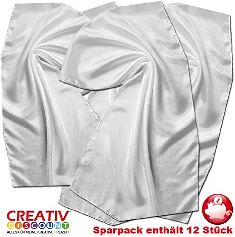 Creative Discount Seiden-Schal Sparpack, Pongé 05, 12 Stück B07JMCH3XT | Neuartiges Design