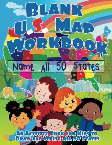 Draw On Us Map Ooq.eBook] Blank US Map Workbook: Name All 50 States (Draw and