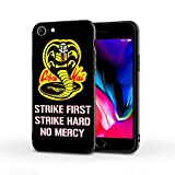 Silicone Case Compatible with iPhone 7 iPhone 8 iPhone SE, Full Body Protection Cover Case (Cobra-Kai)