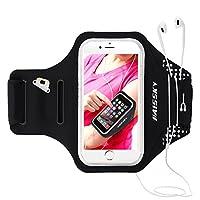 """【AM BESTEN FÜR SPORT】 HAISSKY Armband ist perfekt zum Halten und Schützen Ihres Telefons während des Trainings. Perfekt passend für 5.5""""-6.2""""Telefon wie iPhone XS Max/ XS / XR /X /8 Plus /7 Plus/6s Plus / 6 Plus,Samsung Galaxy S8 Plus/ S7 Edge / Gala..."""