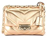 Michael Kors Michael Kors Cece Extra Small Shoulder Bag In Gold Quilted Leather. Gold