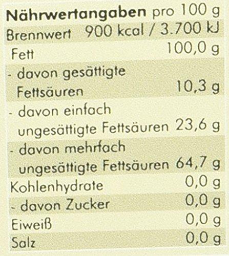 Manako BIO Leinöl human 2×250 ml ABSOLUT FRISCH ab Ölmühle Glasflasche, 1er Pack (1 x 500 ml) – Bio - 5