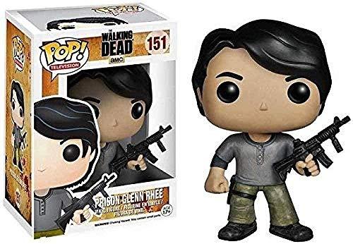 ZSDD Pop! The Walking Dead Figura # 151 Figura Coleccionable de la prision de Glenn Rhee