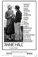 小ポスター米国版「アニー・ホール」アレンとダイアン・キートン