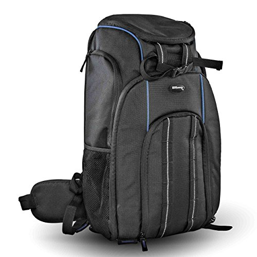 Ultimaxx Water Resistant Travel Backpack Carry Case for DJI Quadcopter Drones, Phantom 4, Pro, Advanced, Standard Series and Additional Accessories