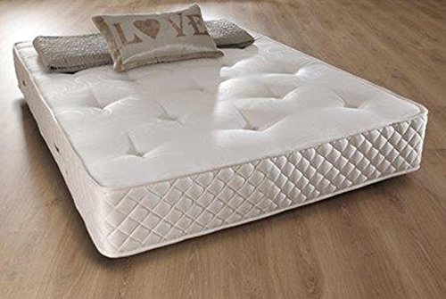 Comfy Living 4ft6 Double Memory Foam Bonnell 10' Mattress