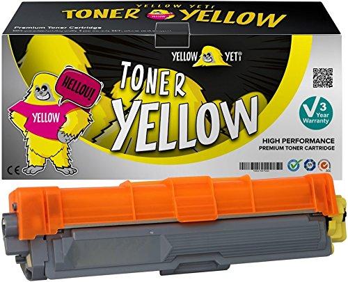Yellow Yeti TN245Y TN246Y (2200 Seiten) Gelb Premium Toner kompatibel für Brother HL-3140CW 3150CDW 3170CDW DCP-9015CDW 9020CDW MFC-9140CDN 9330CDW 9340CDW 9332CDW 9142CDN