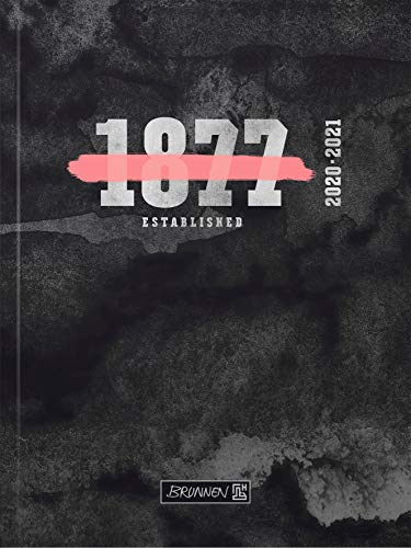 """BRUNNEN 1071810011 """"Neon"""", Wochenkalender/Schülerkalender 2020/2021, 2 Seiten = 1 Woche , Blattgröße 12 x 16 cm , A6 , Broschur-Einband"""