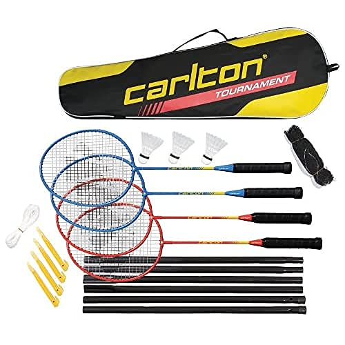 Dunlop Set Carlton Tournament, Rot-Blau, One size