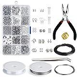 Queta Kit de DIY herramientas de fabricación de joyas, Herramientas para Hacer Exquisitos...