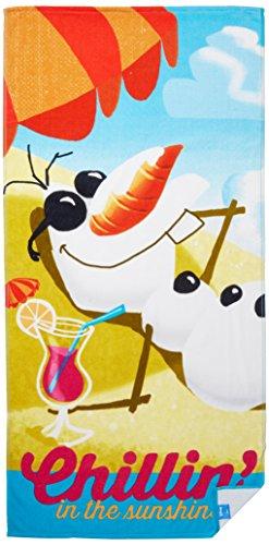 Disney Frozen Chillin 100% Cotton Beach/Bath/Pool Towel 28' x 58'