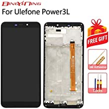 AiBaoQi for Ulefone Power 3L Touch Screen+LCD Display+Frame Assembly Replacement