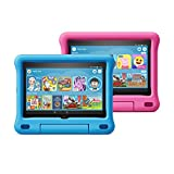 All-new Fire HD 8 Kids Edition tablet 2-pack, 8' HD display, 32 GB, Blue/Pink Kid-Proof Case