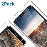Vkaiy Panzerglas Schutzfolie für Nokia 7.1 2018, [2 Stück] 9H Festigkeit, Anti-Kratzen, Anti-Öl, Anti-Bläschen Bildschirmschutzfolie für Nokia 7.1 2018
