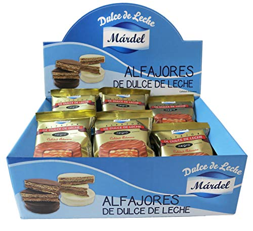 Mardel Alfajores Chocolate Negro - 24 Unidades