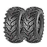 Maxauto 24x9-11 24x9x11 Rear ATV Tires 6PR AT Mud Sand All Terrain Tire Sport Golf Cart Knobby ATV UTV Tires Set of 2