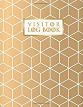 "Visitor Log Book: Visitor Register Book for Business, Visitor Book For Signing In and Out, 8.5"" x 11"" Large (Visitor's sign in record book Series)"