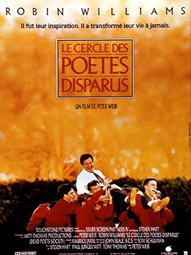 touchstone Affiche Cinéma Originale Grand Format - Le Cercle des Poètes Disparus (Format 120 x 160 cm pliée)