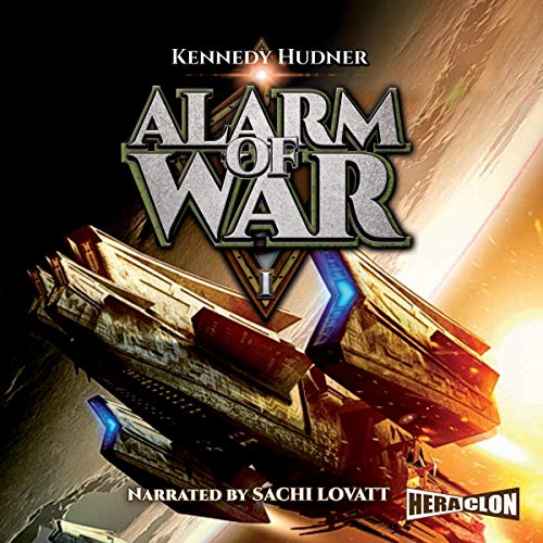 Alarm of War 1 audiobook cover art