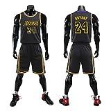Wenhua Camiseta de baloncesto número 20 Lakers, Anthony Davis Mamba, camiseta deportiva para gimnasio, camiseta de baloncesto para hombre, ropa conmemorativa Mamba, Campeonato de Lakers