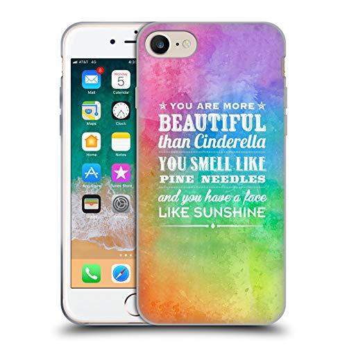 Head Case Designs Licenciado Oficialmente Rachel Caldwell Eres más Ilustraciones Carcasa de Gel de Silicona Compatible con Apple iPhone 7 / iPhone 8 / iPhone SE 2020