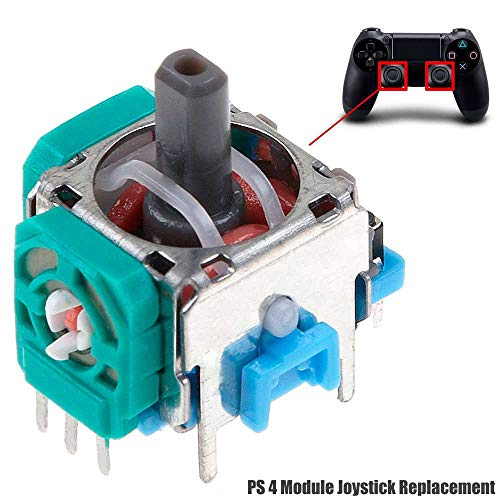 OcioDual Joystick Palanca Modulo Sensor Analógico Eje Axis 3D Recambio Repuesto R3 L3 para Mando PS4 Slim Pro