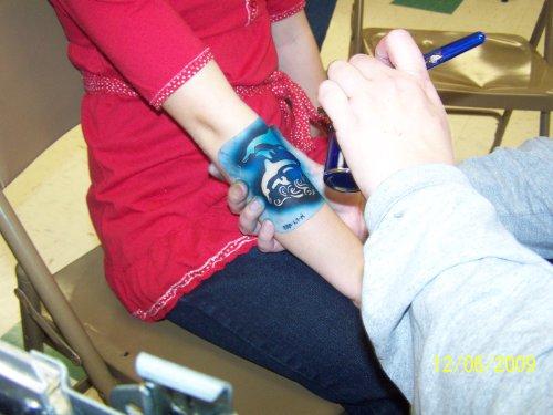 Pinsel Tattoo Service Start Up Beispiel planen In Wirtschaftsdeutsch Luft!