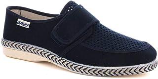 EMANUELA 5304 Blu Pantofola Uomo Made in Italy