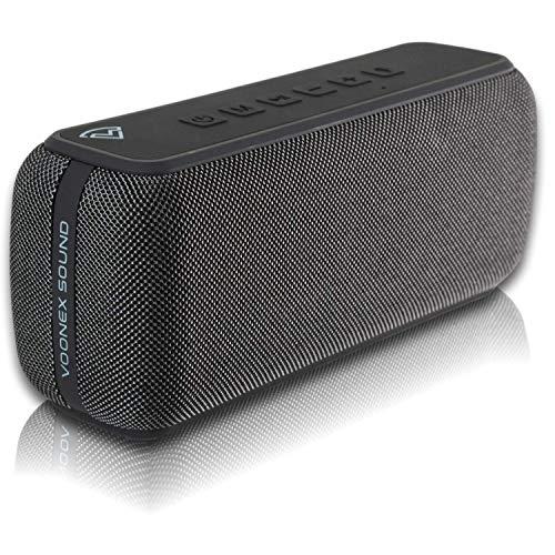 ArcWave Portable Bluetooth Speaker, High Powered Loud Speaker, Bass Boost, IPX5 Waterproof, Dual Speaker Pairing, Wireless Speakers for Home, Outdoors, Travel, USB-C Fast Charge