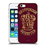 Head Hülle Designs Offizielle Harry Potter Gryffindor Quidditch Deathly Hallows X Soft Gel Huelle kompatibel mit Apple iPhone 5 / iPhone 5s / iPhone SE 2016