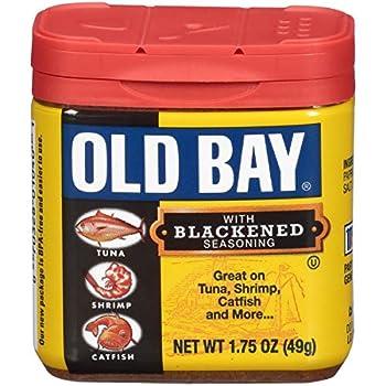 OLD BAY Blackened Seasoning 1.75 oz  Pack of 12