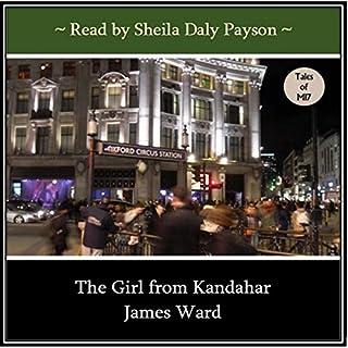 The Girl from Kandahar audiobook cover art