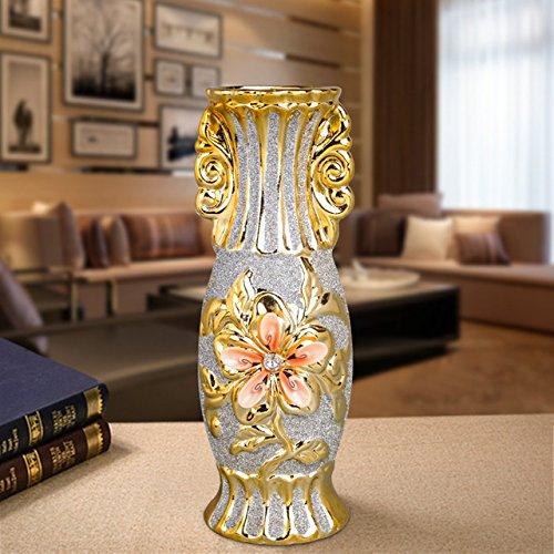 Porseleinen vaas keramische vaas gel plaat vintage Europese studies geavanceerde ruimte home decor trouwzaal,Een grote stijlen