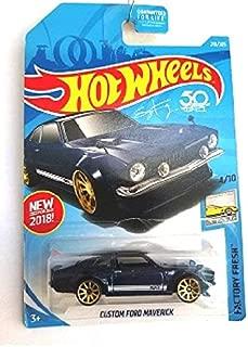 Hot Wheels 2018 50th Anniversary Factory Fresh Custom Ford Maverick 219/365, Blue