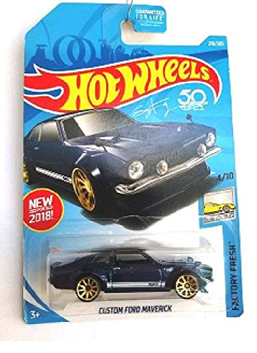Hot Wheels 2018 50th Anniversary Factory Fresh Custom Ford Maverick 219/365, Blue