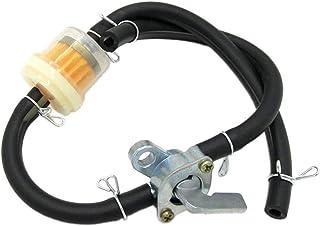 2 metri linea carburante linea carburante tubo del vuoto morsetti per tubi 10 pezzi per auto moto filtro a benzina Diesel Riscaldamento di parcheggio AODOOR 13 en 1 benzin Kit tubo flessibile