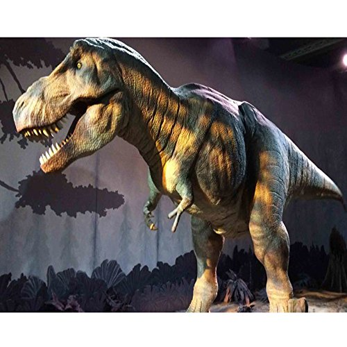 5D-DIY-Diamantgemälde-Bastelset, Dasongff Dinosaurier Full Malerei Leinwand Strass Malerei mit runden Kristallen und einem Bohrer mit spezieller Form, Set für Mosaik-Herstellung, Kunsthandwerk