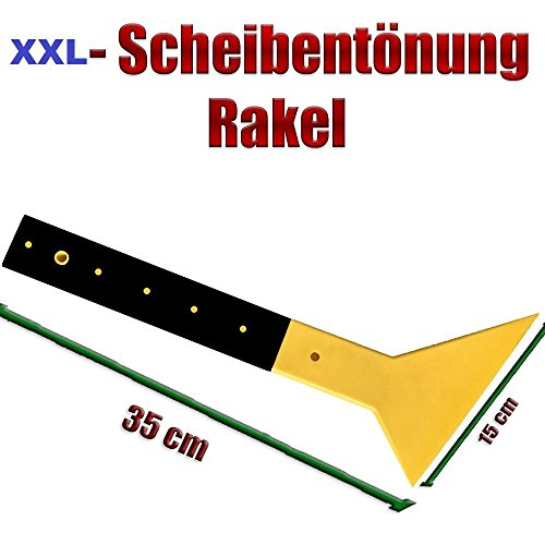 Spezial Rakel für limousinen Autos - XXL Länge - Scheibentönung - carglass Film