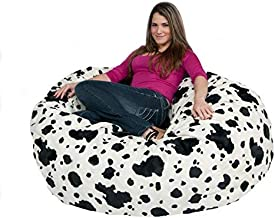 Cozy Sack Bean Bag Chair 5' with 29 Cubic Feet of Premium Foam Inside a Protective Liner Plus Removable Machine Wash Micro...