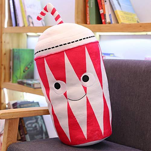 Creativo cuscino farcito peluche cibo hamburger super morbido peluche cuscino cuscino giocattolo regalo di compleanno regalo a sorpresa 50 cm E.