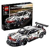LEGO 42096 Technic Porsche 911 RSR, Set Voiture de Course Détaillée à Construire, Modèle et Jouet a Collectionner, pour Enfants de 10 Ans et Plus