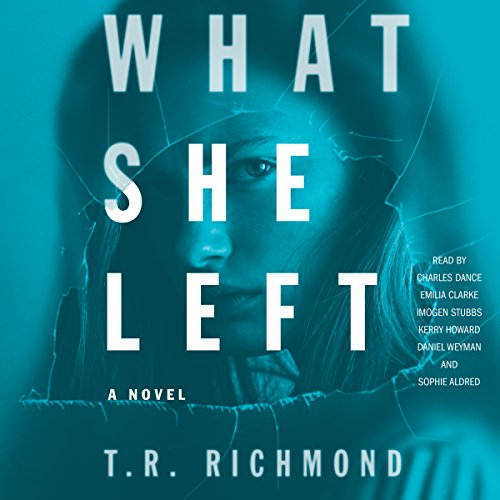 What She Left audiobook cover art