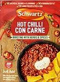 Schwartz Chili Con Carne Receta Mezcla Caliente (41g) (Paquete de 6)