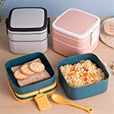 Zoom IMG-2 wuhuaguo box lunch 2 strati