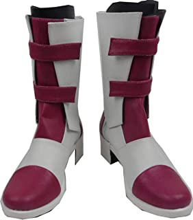 Final Fantasy 13-2 FF XIII-2 Serah Farron Cosplay Costume Boots Boot Shoes Shoe